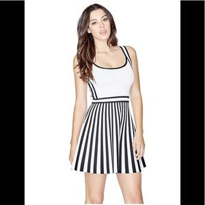 Guess Mirage Nautical Sweater Flare Dress XS *New*